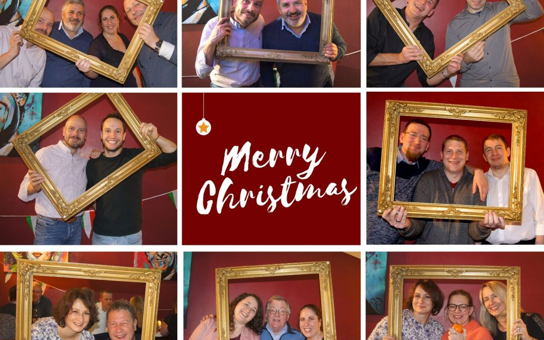 Ho, ho, ho! Frohe Weihnachten und ein gutes neues Jahr!