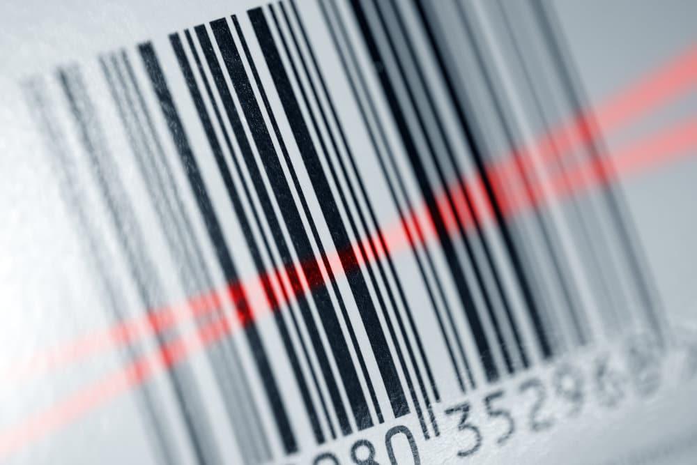 seriennummer barcode